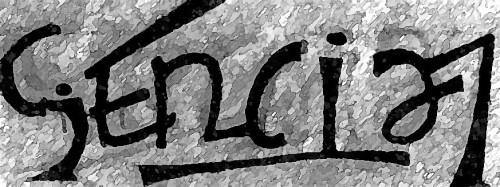 ambigrama ciencia-letras